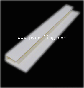 <img>u 型角线:pvc 角线 pvc角线: 用于pvc板 安装使用方高清图片